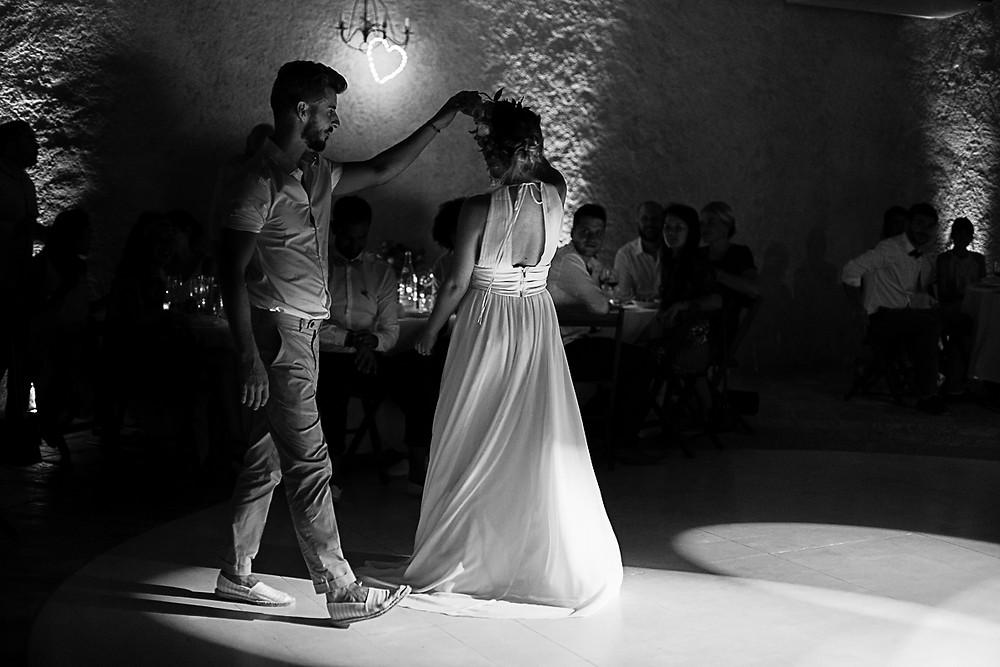 ouverture du bal au domaine fon de rey - les moments d'où photographie
