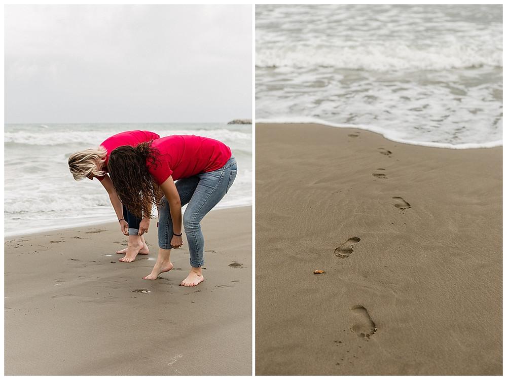 les moments d'ou - evjf les pieds dans l'eau aux saintes-maries-de-la-mer