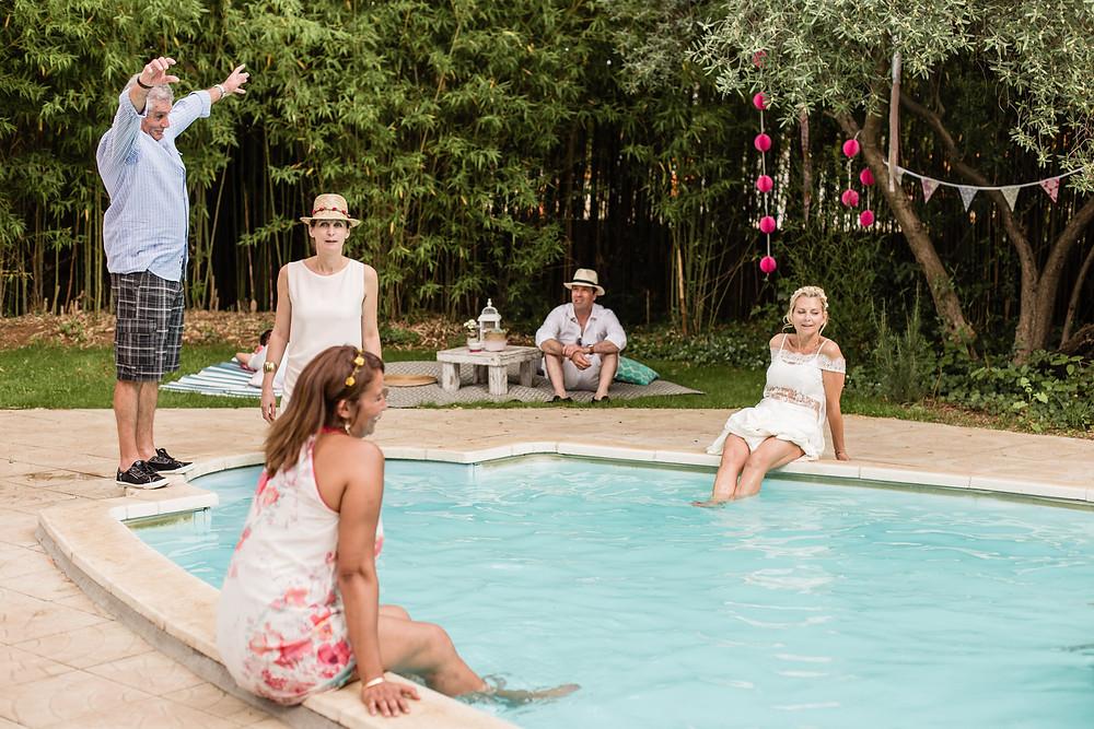 les moments d ou - garden party au clos herminier - photographe mariage boheme montpellier camargue