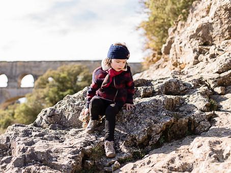 Le Pont du Gard pour terrain de jeux