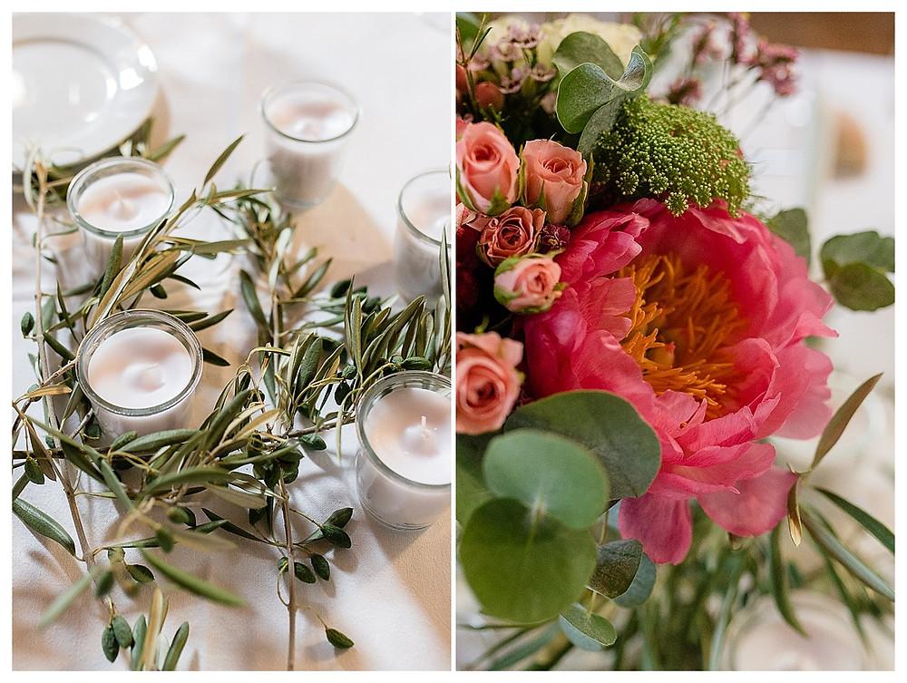 details table mariage au domaine fon de rey - les moments d'où photographie