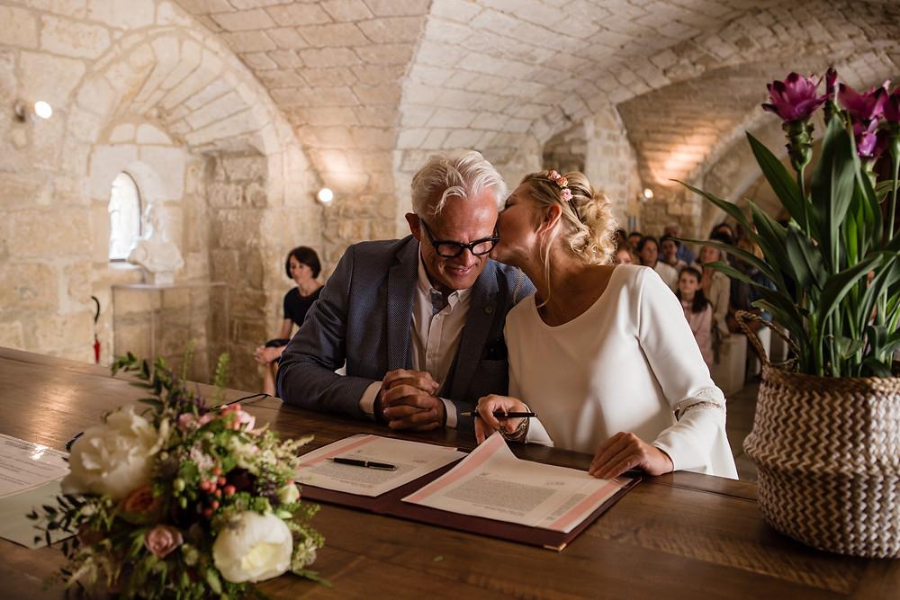 les moments d ou - mairie gramont- photographe mariage montpellier camargue