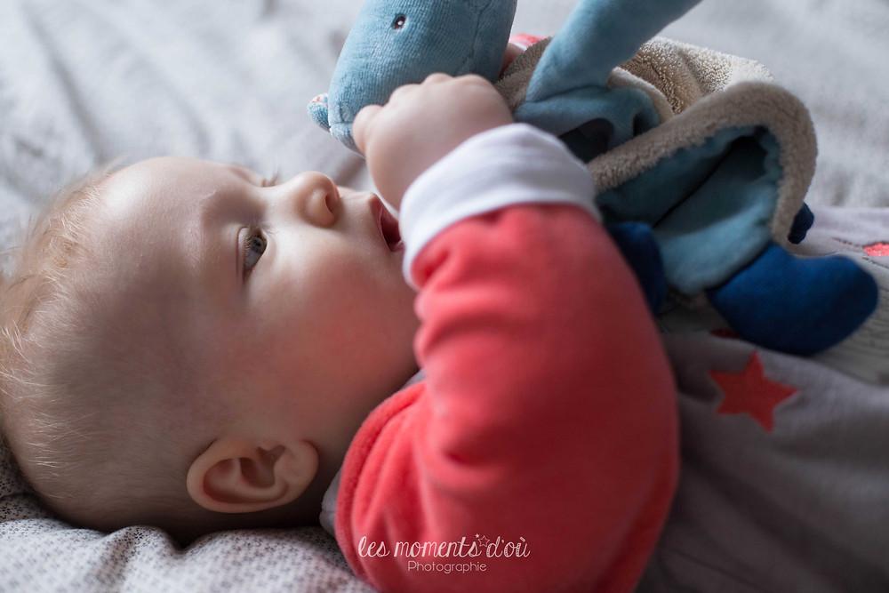 séance portrait bébé - les moments d'où