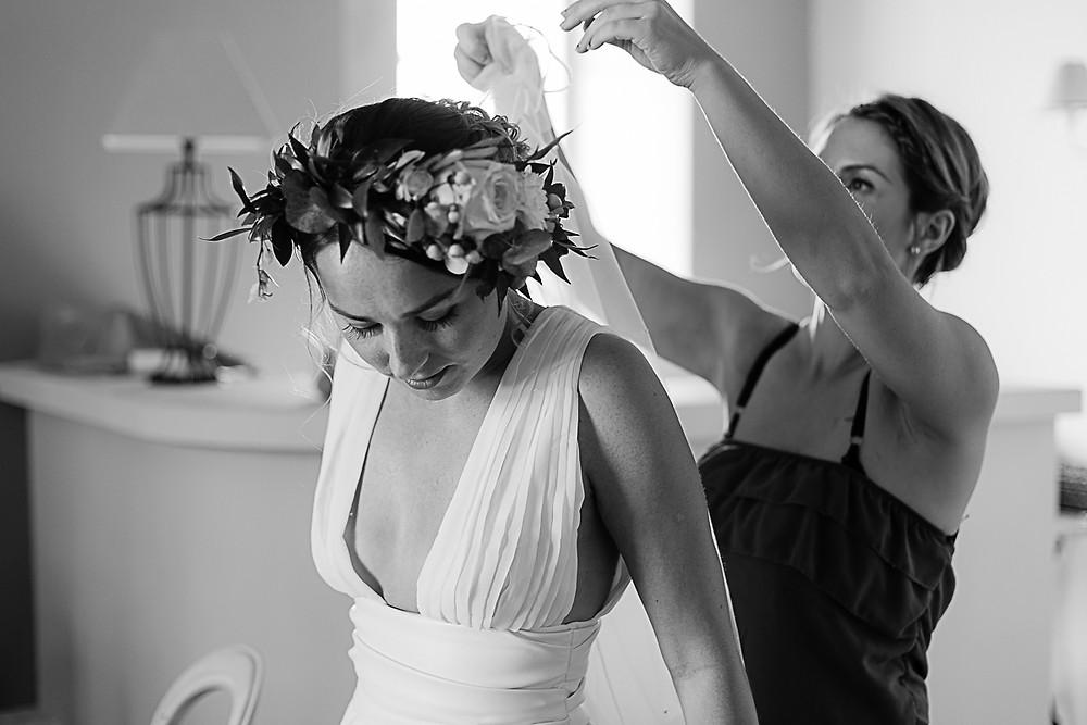 préparatifs mariage romantique au domaine fon de rey - les moments d'où photographie