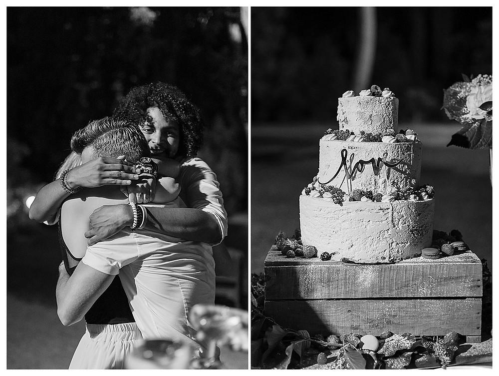 gateau des maries au domaine fon de rey - les moments d'où photographie