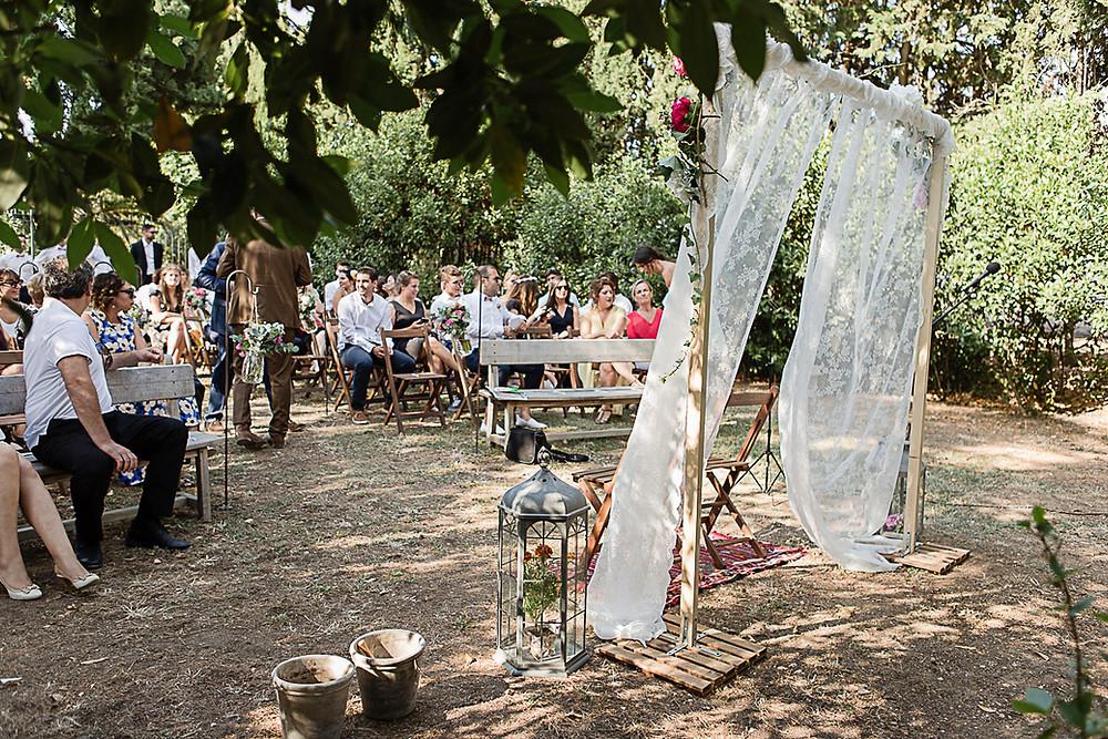 ceremonie laïque au domaine fon de rey - les moments d'où photographie