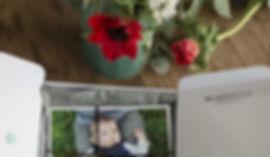 Coffret tirages photos et usb personnalisé, les moments d'où