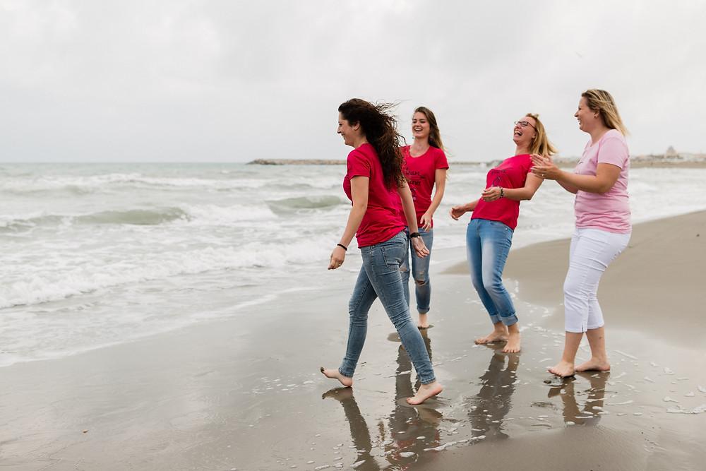 les moments d'ou - evjf sur une plage des saintes-maries-de-la-mer