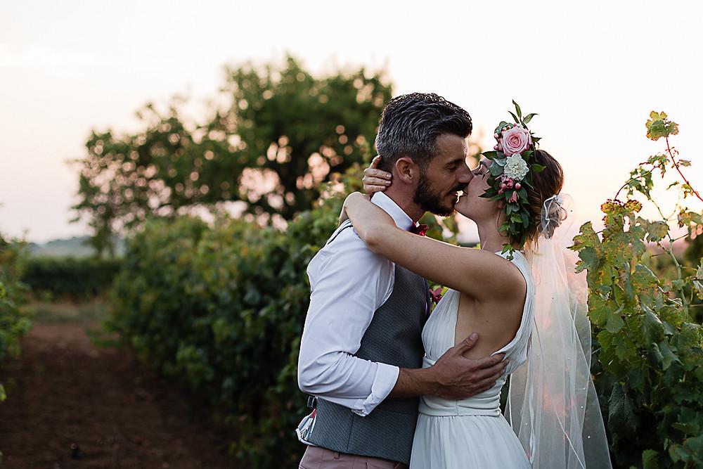 romantique mariage au domaine fon de rey - les moments d'où photographie