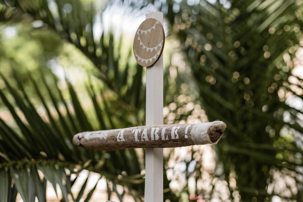 les moments d ou - detail deco - photographe mariage montpellier camargue