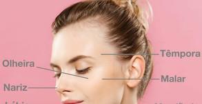 Você sabe que regiões  podemos fazer preenchimento facial?