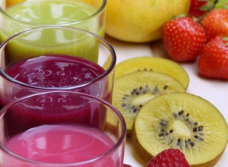 Estratti Energizzanti: frutta e verdura fresca