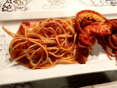 Christmas Eve: Spaghetti with Lobster