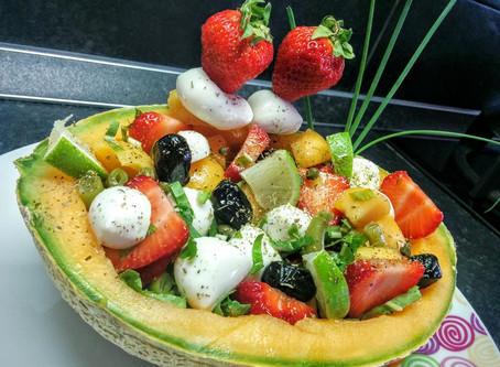 Ricetta Insalata nel Melone
