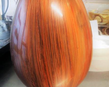 Uova di pasqua dipinte a mano
