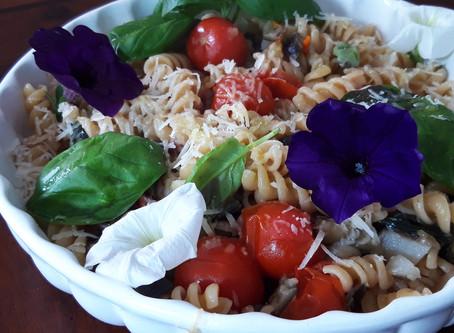 Pasta Risottata:colori e sapori mediterranei