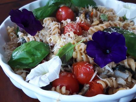 Mediterranean Pasta: italian colors and flavors