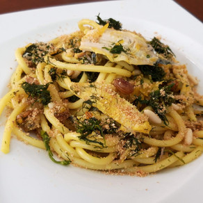 Bucatini with sardines and wild fennel: Sicily my love