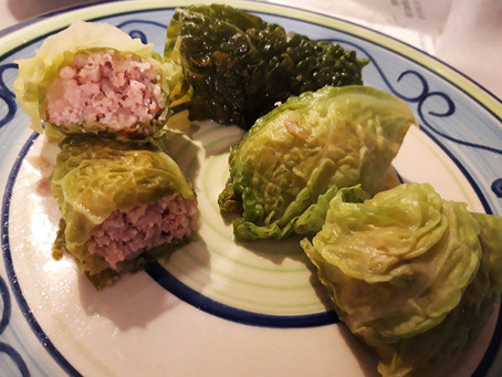 Cabbage and Meat Rolls.