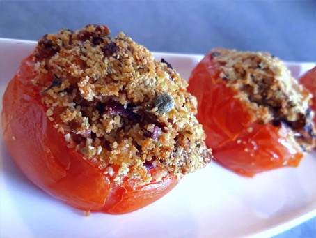 Sicilia: Pomodori ripieni al forno