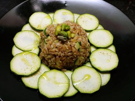 Cupola di Cereali con Pistacchi e Zucchine