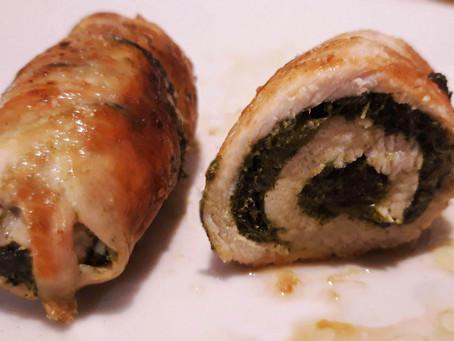 Involtini di Pollo e Cavolo Nero al Parmigiano