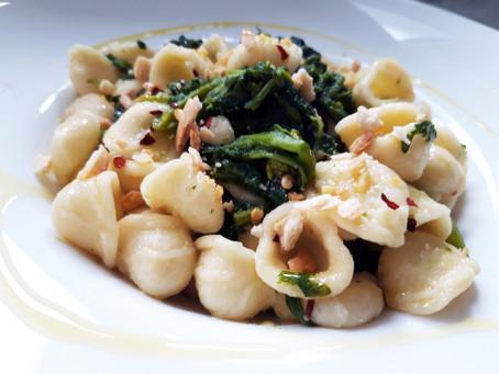 Puglia: Orecchiette with Turnip Greens