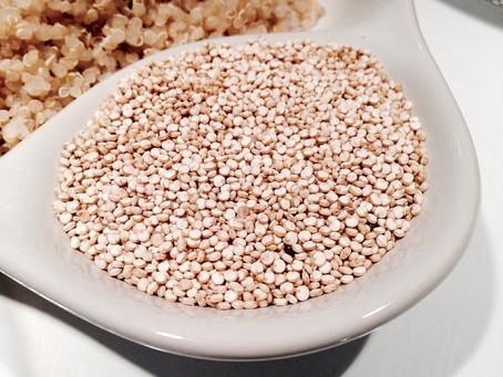 Rum, frutta fresca e farina di quinoa