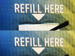 Expanding the refill range!