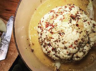 Spiced coconut cauliflower