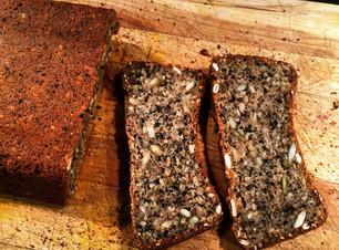 Wheat-free seed loaf