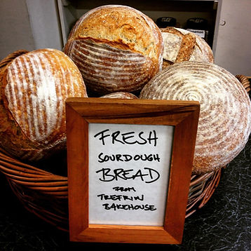 Local top tip: Fresh sourdough bread - every Tuesday!
