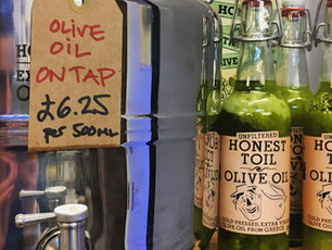The best olive oil we could find, on tap