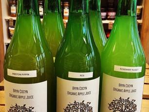 Local & organic apple juice!
