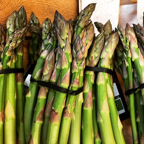 Hurray! The first of asparagus is here!#