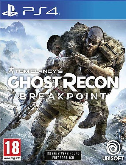 Ghost Recon Breakpoint - Jogo para Playstation 4