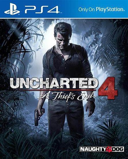Uncharted 4 - Jogo para Playstation 4