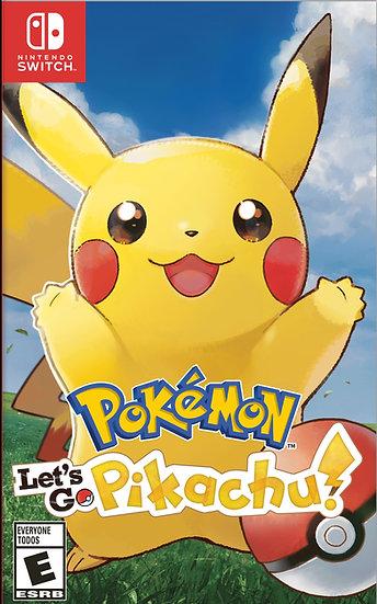 Pokémon Let's Go Pikachu - Jogo Exclusivo Nintendo Switch