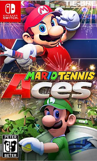 Mario Tennis Aces - Jogo Exclusivo Nintendo Switch