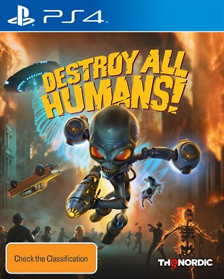 Destroy All Humans - Jogo para Playstation 4