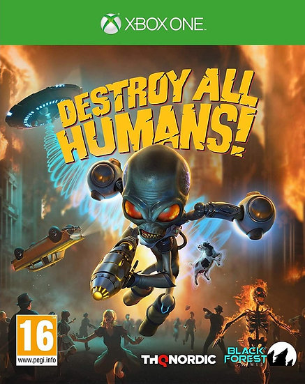 Destroy All Humans - Jogo para Xbox One