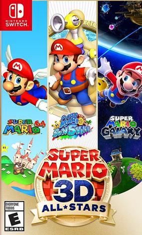 Super Mario 3D AllStars - Jogo Original para Nintendo Switch