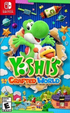Yoshi : Crafted World - Jogo Exclusivo Nintendo Switch