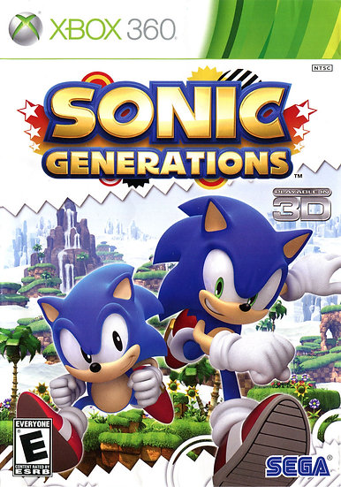 Sonic Generations - Jogo para Xbox 360 / Xbox One