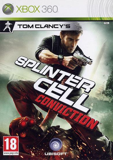 SplinterCell : Conviction - Jogo para Xbox 360 / Xbox One