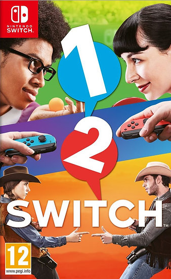 1-2 - Jogo Exclusivo Nintendo Switch