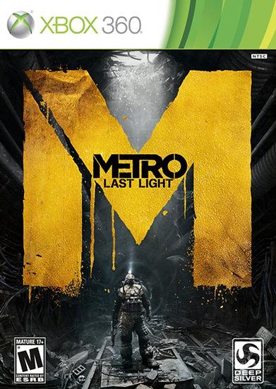 Metro Last Light - Jogo para Xbox 360
