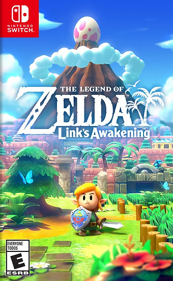 Zelda Link's Awakening - Jogo para Nintendo Switch
