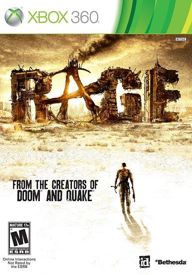Rage - Jogo Original para Xbox 360