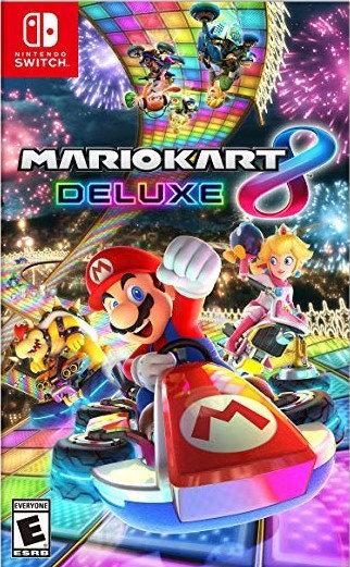 Mario Kart 8 Deluxe - Jogo Exclusivo Nintendo Switch
